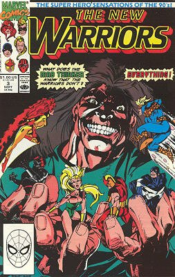 The New Warriors # 3 Issues V1 (1990 - 1996)