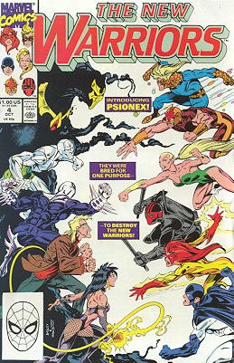 The New Warriors # 4 Issues V1 (1990 - 1996)