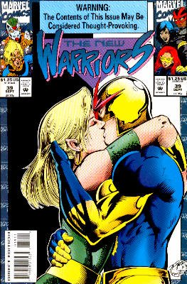 The New Warriors # 39 Issues V1 (1990 - 1996)