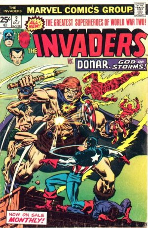 The Invaders # 2 The Invaders - Issues V1 (1975 - 1979)