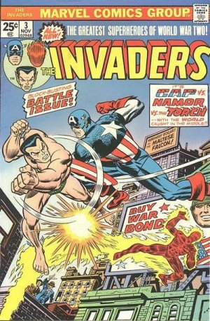 The Invaders # 3 The Invaders - Issues V1 (1975 - 1979)