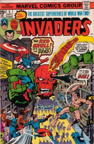 The Invaders # 5 The Invaders - Issues V1 (1975 - 1979)