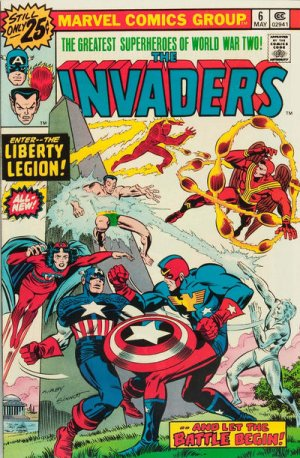 The Invaders # 6 The Invaders - Issues V1 (1975 - 1979)