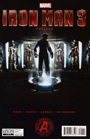 Marvel's Iron Man 3 Prelude édition Issues