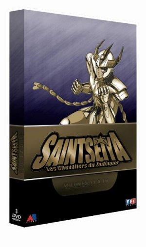 couverture, jaquette Saint Seiya - Les Chevaliers du Zodiaque 5 COFFRET SLIM (AB Production)