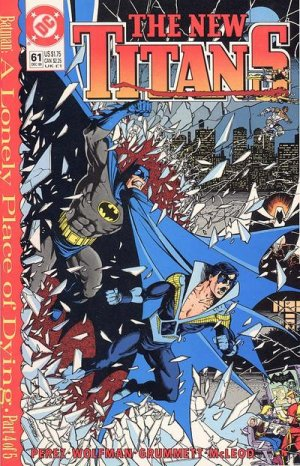 The New Titans # 61 Issues V1 (1988 - 1996)