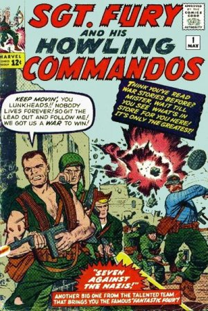 Sgt. Fury And His Howling Commandos édition Issues (1963 - 1974) - Sgt. Fury
