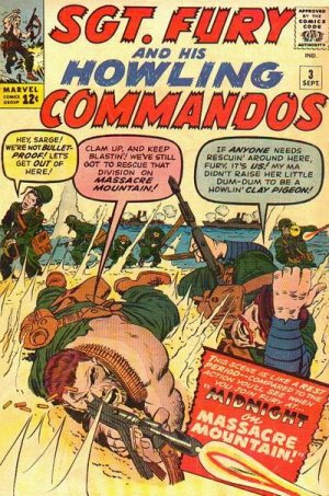Sgt. Fury And His Howling Commandos 3 - Midnight On Massacre Mountain