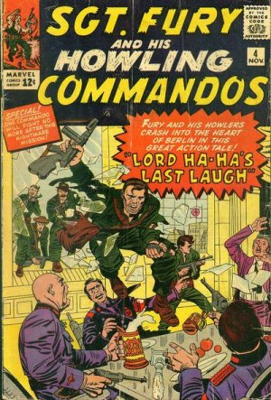 Sgt. Fury And His Howling Commandos 4 - Lord Ha-Ha's Last Laugh