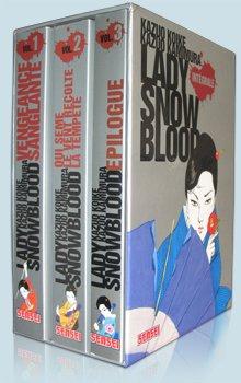 Lady Snow Blood édition COFFRET INTEGRALE