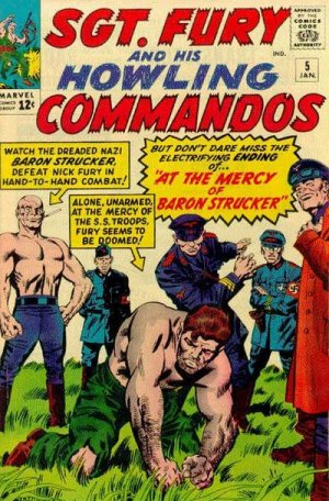 Sgt. Fury And His Howling Commandos 5 - At the Mercy of Baron Strucker