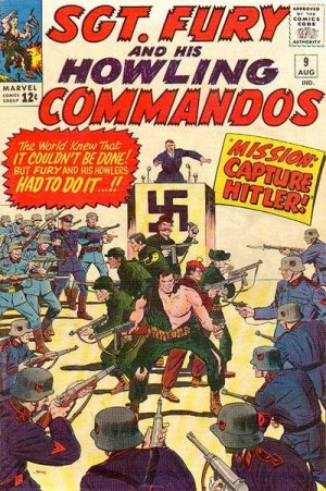 Sgt. Fury And His Howling Commandos 9 - Mission: Capture Adolf Hitler