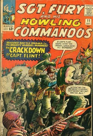 Sgt. Fury And His Howling Commandos 11 - The Crackdown of Captain Flint