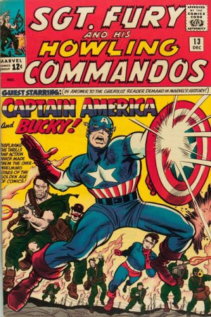 Sgt. Fury And His Howling Commandos # 13 Issues (1963 - 1974) - Sgt. Fury