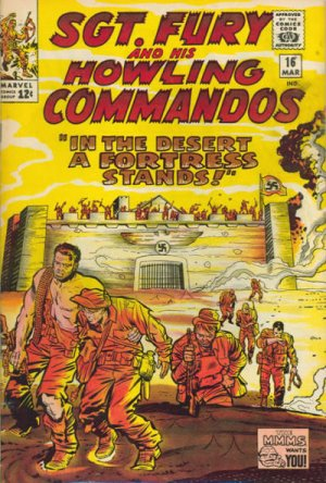 Sgt. Fury And His Howling Commandos 16 - A Fortress In the Desert Stands