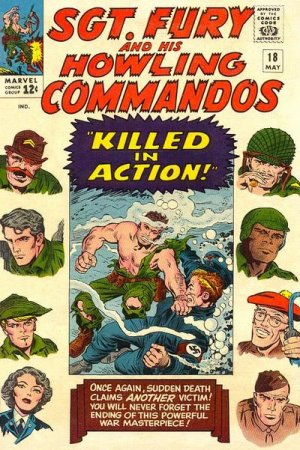 Sgt. Fury And His Howling Commandos 18 - Killed in Action!