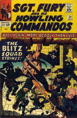 Sgt. Fury And His Howling Commandos 20 - The Blitz Squad Strikes