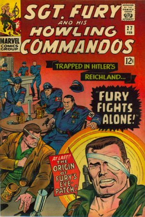 Sgt. Fury And His Howling Commandos 27 - Fury fights alone!