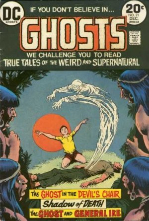 Ghosts # 21 Issues V1 (1971 - 1982)