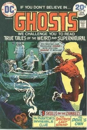 Ghosts # 25 Issues V1 (1971 - 1982)