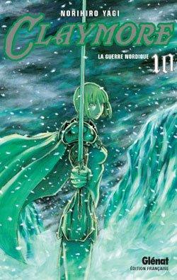 couverture, jaquette Claymore 10  (Glénat Manga)