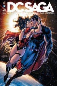 Justice League # 13 Kiosque mensuel