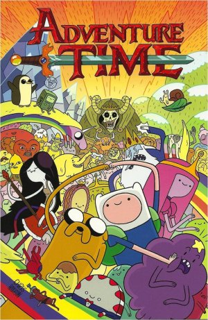 Adventure time édition TPB hardcover (cartonnée)