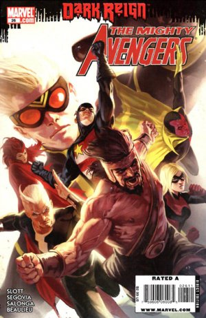 Mighty Avengers # 26 Issues V1 (2007 - 2010)