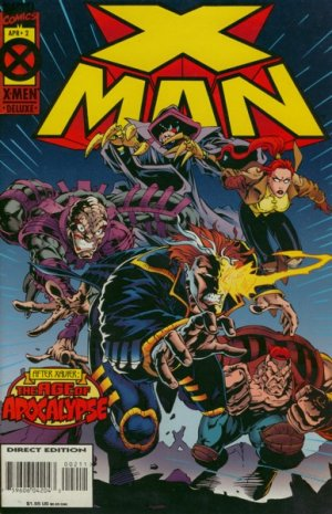 X-Man # 2 Issues (1995 - 2001)