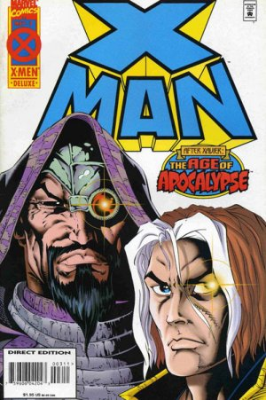 X-Man # 3 Issues (1995 - 2001)
