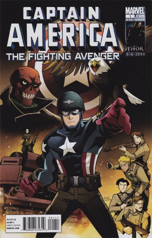Captain America The Fighting Avenger édition Issues