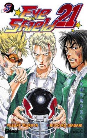couverture, jaquette Eye Shield 21 5  (Glénat Manga) Manga