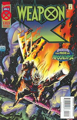 Weapon X # 2 Issues V1 (1995)