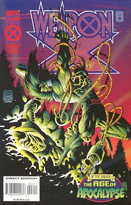 Weapon X # 3 Issues V1 (1995)