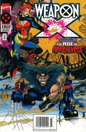 Weapon X # 4 Issues V1 (1995)