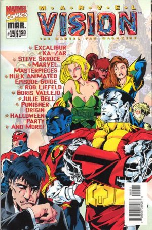 Marvel Vision # 15 Kiosque
