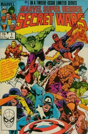 Les Guerres Secrètes # 1 Issues (1984 - 1985)