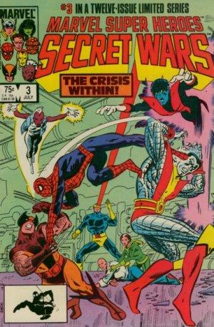 Les Guerres Secrètes # 3 Issues (1984 - 1985)