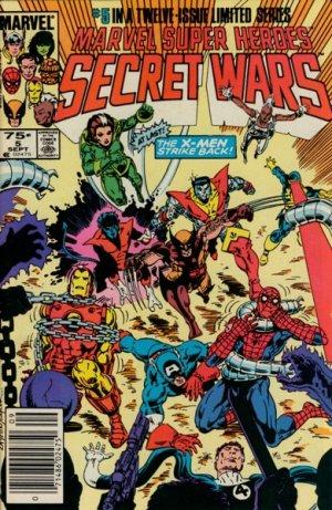 Les Guerres Secrètes # 5 Issues (1984 - 1985)