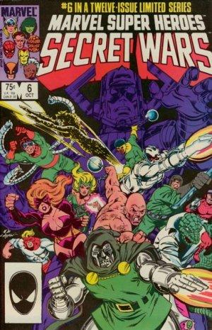 Les Guerres Secrètes # 6 Issues (1984 - 1985)