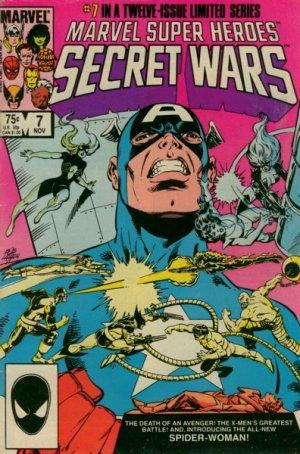 Les Guerres Secrètes # 7 Issues (1984 - 1985)