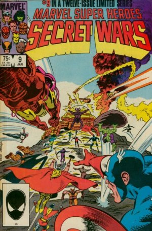 Les Guerres Secrètes # 9 Issues (1984 - 1985)