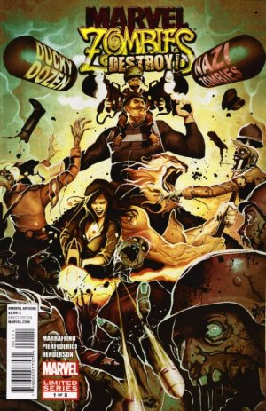 Marvel Zombies Destroy! édition Issues (2012)