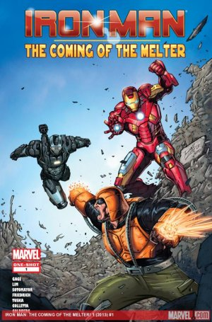 Iron Man - The Coming Of The Melter ! édition Issues