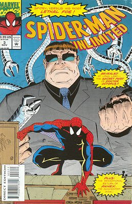 Spider-Man Unlimited # 3 Issues V1 (1993 - 1998)