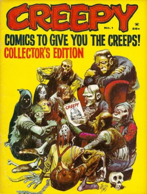 Creepy édition Issues V1 (1964 - 1985)