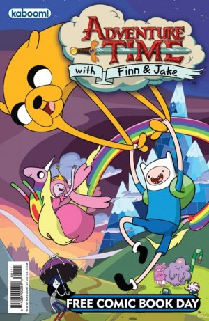 Free Comic Book Day 2012 - Adventure Time / Peanuts # 1 Free Comics Book Day Edition