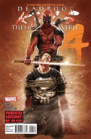 Deadpool Massacre Marvel # 4 Issues (2012)
