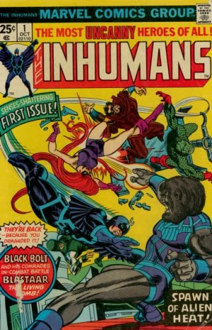 Inhumains édition Issues V1 (1975 - 1977)