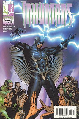Inhumains # 3 Issues V2 (1998 - 1999)